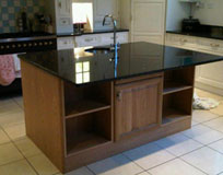 Bespoke Kitchen workstations