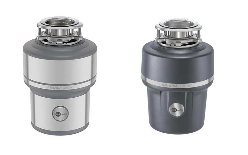 Food waste disposer units