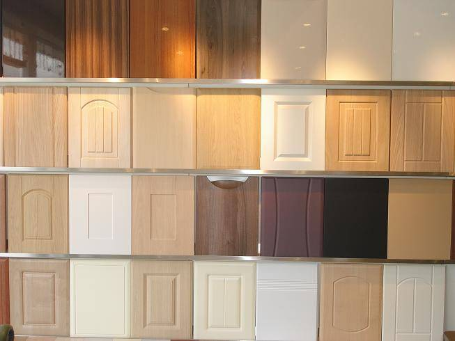 Made to measure kitchen cabinet doors