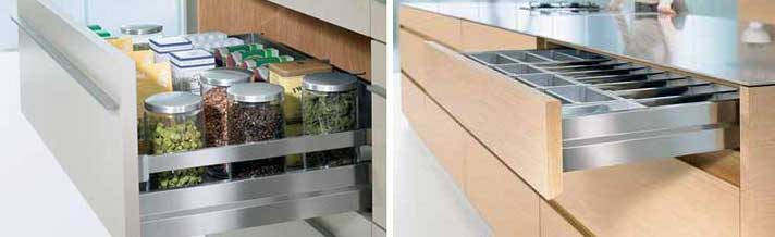 Soft close drawers for your kitchen