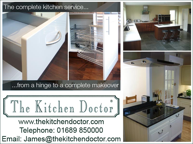 The Kitchen Doctor Makeovers to save you money Telephone 01689 850000