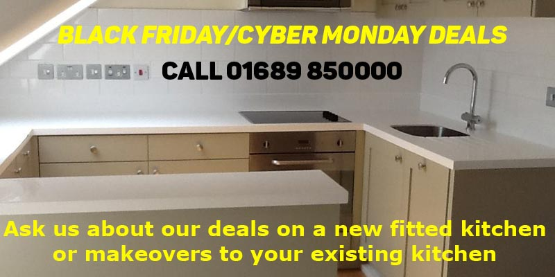 Black Friday and Cyber Monday deals on kitchen makeovers and new kitchens