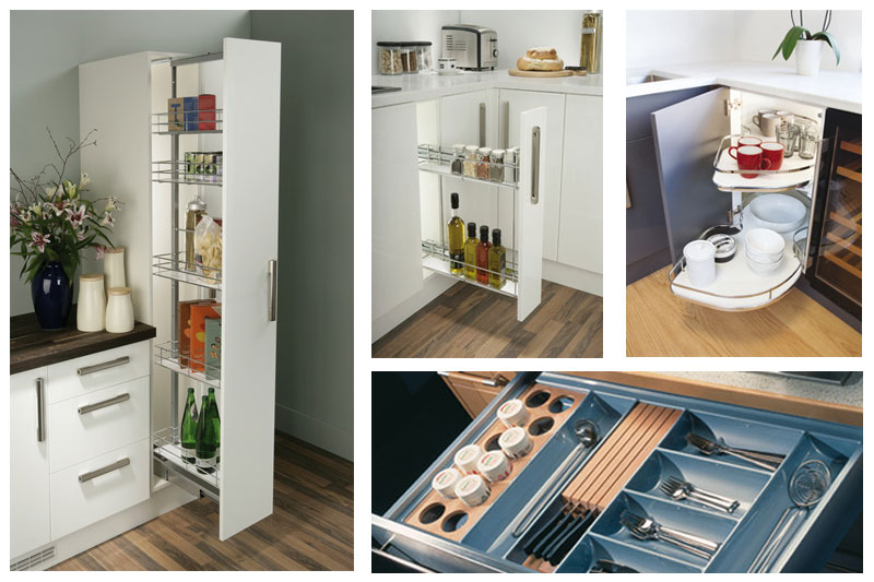 Pull out storage solutions